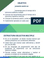 Estructura Selectiva de Control Multiple y Repetitivo