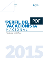 Perfil Vacacionista Nacional 2015