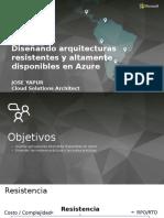CloudSummit_AZUREArquitectura