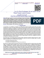 Design and Analysis of a Heat Exchanger