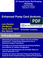 Enhanced Pump Card Analysis