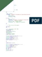 Create Database Farmacia