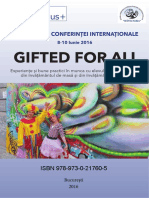 Ghid Conferinta Gifted for All