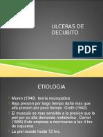 ULCERAS DECUBITO