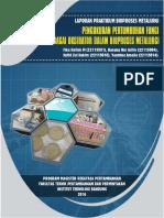 Laporan Praktikum Bioproses Metalurgi Kelompok Fungi 2016 -Fika,Danang, Yasmin, Hafidz
