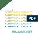 Libro Para El Estudiante Alfabetizando - ALFABENCUENTRO