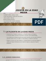Filosofía Medieval. FILOSOFÍA Y LOGICA