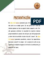 Cafe Aqua Proyec Logistica 1