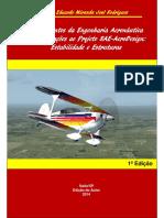 20014 RODRIGUES Fundamentos Da Engenharia Aeronáutica Com Aplicações as Projeto SAE-Aero Design Estabilidade e Estruturas (Livro)