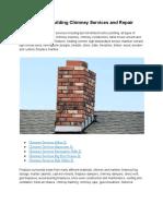Crown Rebuilding Chimney Services and Repair