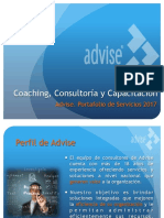 Portafolio de Servicios Advise 2017