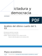 Dictadura y Democracia Ppt