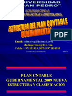 Estruct. Plan Contable Gubernamental