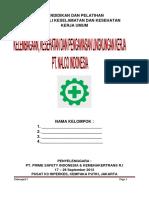 Laporan PKL Pengawasan K3 Mekanik Dan Konstruksi Bangunan 2