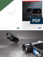 Samsung Camcorder All models Catalog PAL