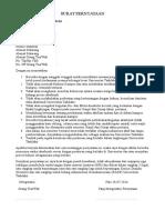 Surat Pernyataan 1