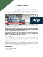 Produsen Pagar Brc Kediri, 085-1000-720-95 (Simpati)