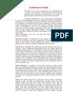 ECONOMICS TERMS.doc