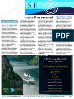 Cruise Weekly for Tue 30 May 2017 - Agents name top cruise lines, RCI bookings open, Syd cruise booking policy, Pacific Explorer, Constellation