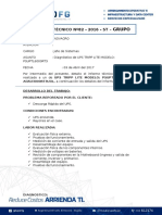 Informe Técnico N°82 - Novagro