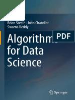 Algorithms for Data Science 1st Brian Steele(Www.ebook Dl.com)