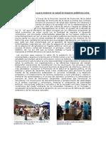Medidas y Acciones  Informe de Ticlio