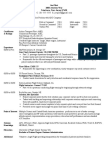 Sample Pilot Resume Template