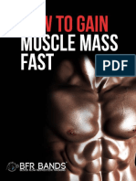 BFR Bands - How to Gain Muscle Mass Fast