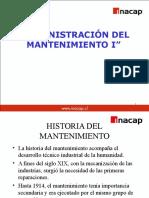 Administración Del Mantenimiento I - Mas Materia