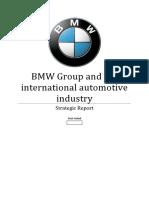 Strategic Planning - BMW Strategic Planning