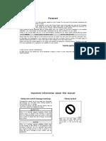 2005 Land Cruiser Manual