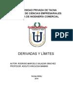 Monografia de Limites y Derivadas