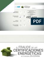 El Fraude de Las Certificaciones Energet