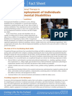 Workers With DD Fact Sheet