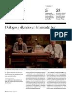 Diálogos y silencios en la barra del bar ('Horace and Pete') (Verano 2017)
