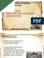 Gotico en en España. Arquitectura(1)