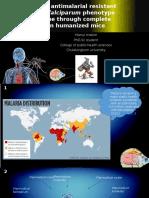 Monitoring of Antimalarial Resistant Plasmodium Falciparum Phenotype and [Autosaved]