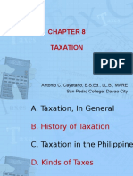 Chapter 8 - Taxation