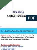 Analog Transmissison