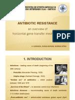 Antibiotic Resistance - An Overview of Horizontal Gene Transfer Mechanisms - Prezentare