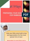 Preparing Your Kids for Ramadan