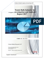Global Tennis Balls Industry Market