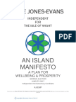Julie Jones Evans Manifesto 2017