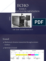 Dr.aneesh ECHO Basics and Instrumentation