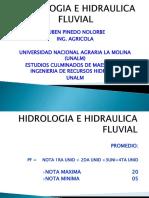 Clases Hidrologia