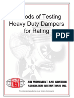 Methods of Testing Heavy Duty Dampers