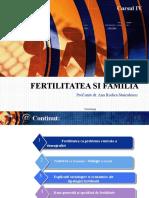 Cursul IV Fertilitate