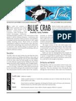 Sea Stats - Blue Crab