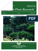 Volume 4, Issue 1 (2017) Tropical Plant Research