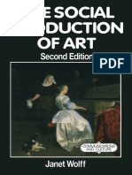 Janet Wolff (1993) - The Social Production of Art [Macmillan]